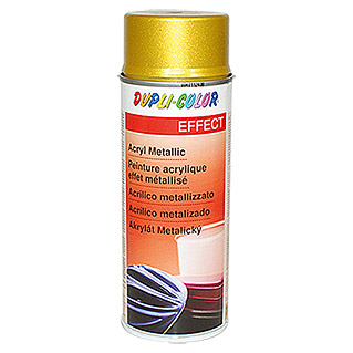Dupli-Color EFFECT Acryl-Lackspray Metallic (Gold Metallic, Seidenmatt, Schnelltrocknend, 400 ml)