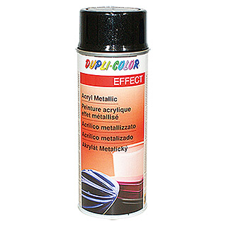 Dupli-Color Effect Acryl-Lackspray Metallic (Schwarz Metallic, Seidenmatt, Schnelltrocknend, 400 ml)