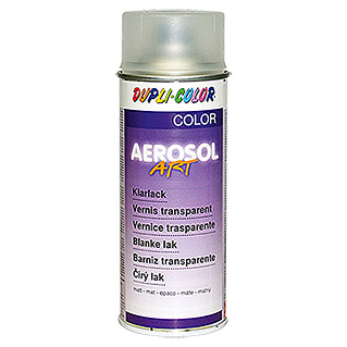 Dupli-Color Barniz transparente Aerosol (Mate, 400 ml, Incoloro)