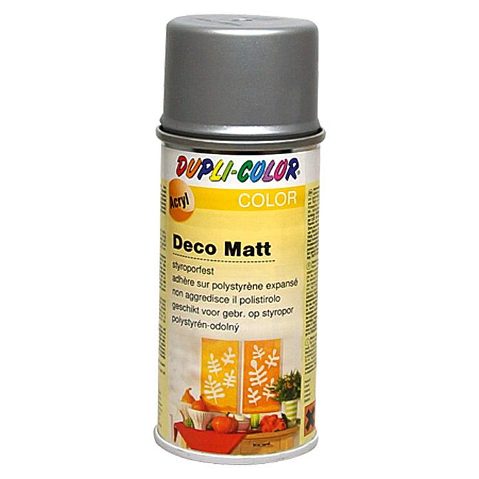 Dupli-Color COLOR Deco Matt Acryllackspray  (Silber/Bronze, 150 ml)