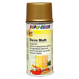 Dupli-Color COLOR Deco Matt Acryllackspray  (Gold/Bronze, 150 ml)