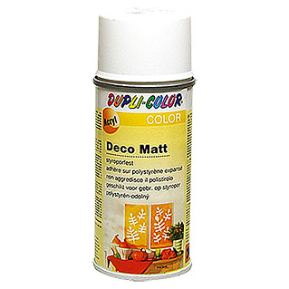 Dupli-Color COLOR Deco Matt Acryllackspray (Weiß, 150 ml, Matt)