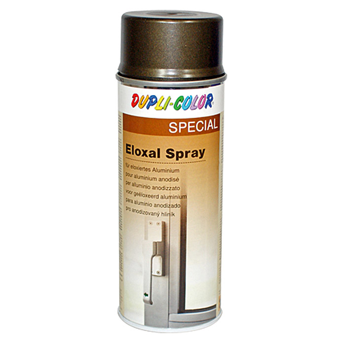 ELOXAL SPRAY MITTEL-BRONZE SM  400 ml   DUPLICOLOR
