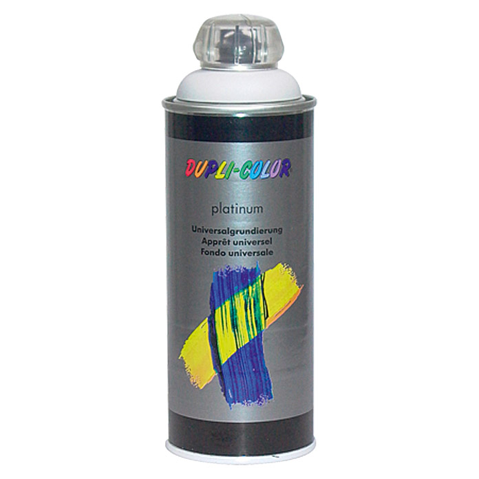 Dupli-Color Universalgrundierung platinum (Grau, 400 ml)