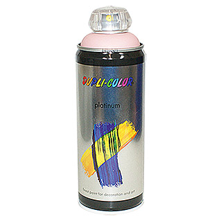 Dupli-Color Buntlack-Spray platinum (Rosa, 400 ml, Seidenmatt)