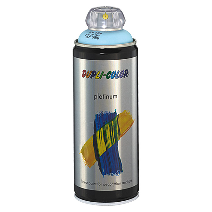 Dupli-Color Buntlack-Spray platinum (Eisblau, 400 ml)