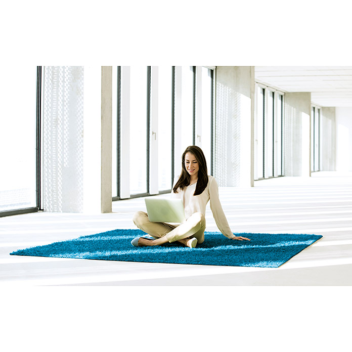 Classis Carpets  Infinity Grass Rasenteppich World of Colors (200 x 133 cm, Hawaiian Blue, Ohne Noppen)