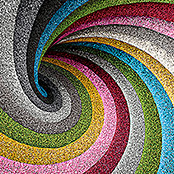 Classis Carpets  Infinity Grass Rasenteppich World of Colors (200 x 133 cm, Silver Grey, Ohne Noppen)