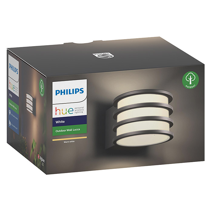 Philips Hue Aplique exterior LED Lucca  (IP44)