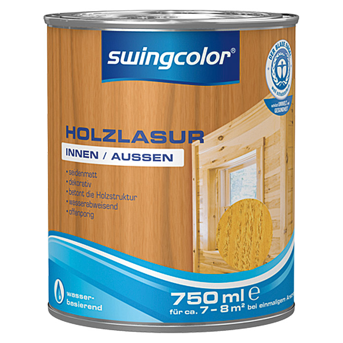HOLZLASUR WB 750 ml KIEFER              SWINGCOLOR