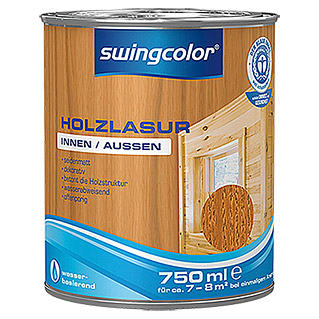 swingcolor Holzlasur  (Teak, 750 ml)