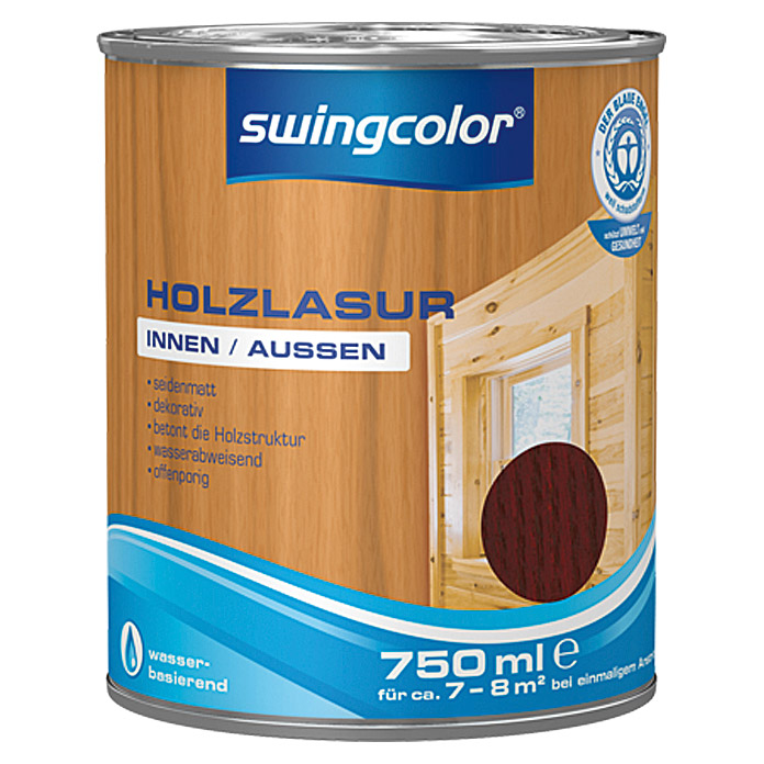swingcolor Holzlasur  (Palisander, 750 ml)