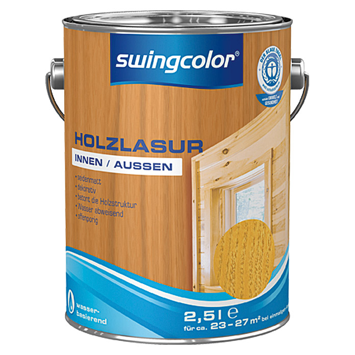 swingcolor Holzlasur  (Kiefer, 2,5 l)