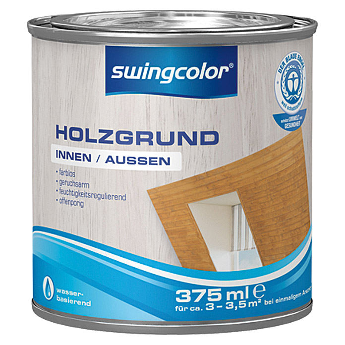 swingcolor Holzgrund  (375 ml, Farblos)