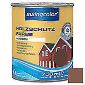 HOLZSCHUTZFARBE WB  750 ml NUSSBRAUN    SWINGCOLOR