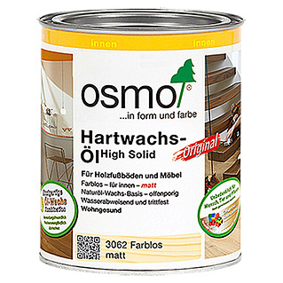Osmo High Solid Hartwachsöl Original 3062 (Farblos, 750 ml, Matt)