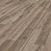 LOGOCLIC Laminat Edition Family Cozy Oak (1.285 x 192 x 7 mm, Landhausdiele)