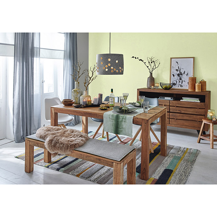 sch ner wohnen wandfarbe naturell birkengr n 2 5 l matt. Black Bedroom Furniture Sets. Home Design Ideas