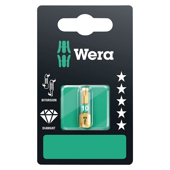 Wera Premium Plus Diamant-Bit 867/1 BDC (TX 10, 25 mm)