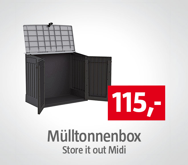 Muelltonnenbox Store it out Midi