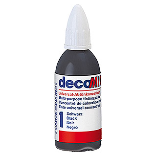 Decotric Abtönkonzentrat decoMIX (Schwarz, 20 ml)