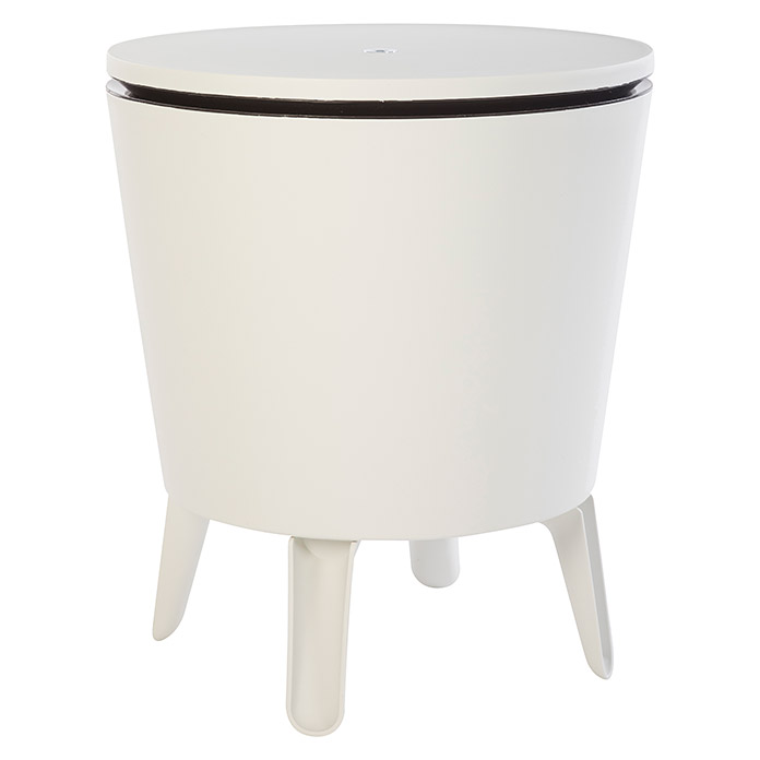 Keter Nevera portátil Cool Bar (L x An x Al: 49,5 x 49,5 x 84,5 cm, Blanco)