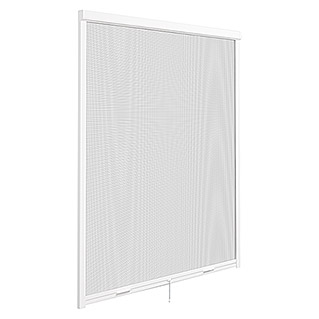Mosquitera Elite frontal (An x Al: 125 x 170 cm, Color tejido: Blanco, Ventana)
