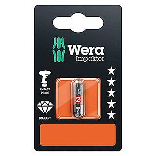 Wera Premium Plus Bit 851/1 Impaktor (PH 2, 25 mm)