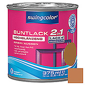 BUNTLACK 2IN1 HGL.WB375 ml OCKERBRAUN   SWINGCOLOR