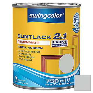 swingcolor 2in1 Buntlack  (Lichtgrau, 750 ml)