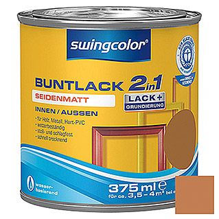 swingcolor 2in1 Buntlack  (Ockerbraun, 375 ml)