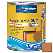 BUNTLACK 2IN1 SDM.WB750 ml OCKERBRAUN   SWINGCOLOR