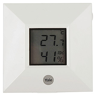 Yale Smart Living Temperatursensor (Passend für: Yale Smart Living Alarmanlage SR-3200i, Weiß)