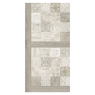 Bariperfil Panel de pared y suelo Wood Hidraulic Grey (1,2 m x 60 cm, Gris)