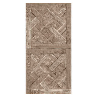 Bariperfil Panel de pared y suelo Roma Ash (1,2 m x 60 cm, Marrón)