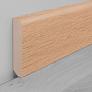 Zócalo Roble Light Brushed (2,6 m x 16 mm x 80 mm)