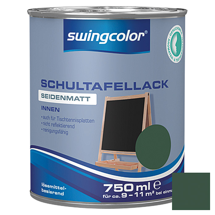 SCHULTAFELLACK LB   750 ml GRUEN        SWINGCOLOR