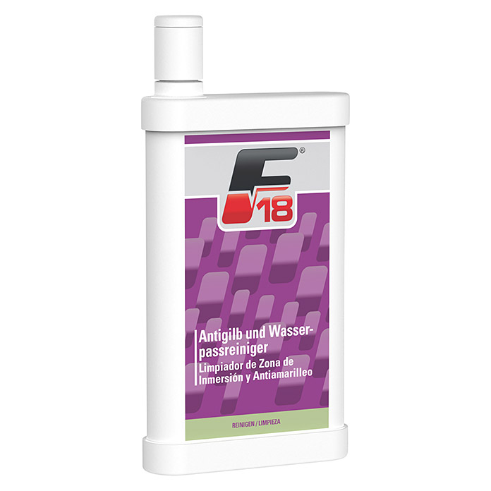 F18 Gelcoat-Reiniger Anti-Gilb (500 ml) -