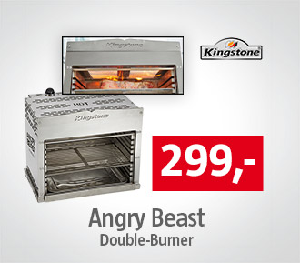 Kingstone Angry Beast Double Burner