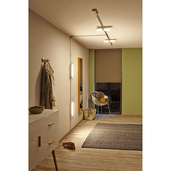 Paulmann URail LED-Panel Loop (7 W, Lichtfarbe: Warmweiß, L x B: 38 x 11 cm)
