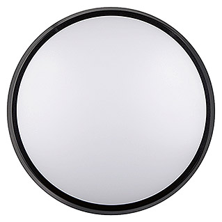 Luceco Aplique exterior LED Circular (1 luz, 10 W, Color de luz: Blanco neutro, IP54)