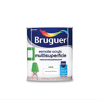 Bruguer Esmalte de color Acrylic Multisuperficie  (Blanco, 750 ml, Mate)
