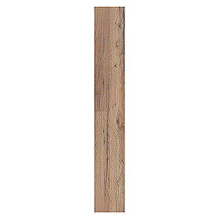 LOGOCLIC Laminado AC4-32 Roble Crusoe (1,28 m x 19,2 cm x 8 mm, Casa rural)