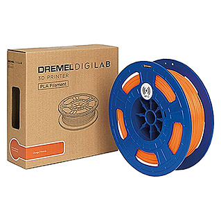 Dremel 3D-Drucker-Filament PLA-DF04 (Polylactide (PLA), 1,75 mm, Orange)