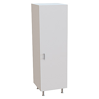 Top Element B Columna de cocina (L x An x Al: 58 x 60 x 200 cm, Blanco)