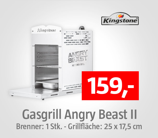 Gasgrill Angry Beast von Kingstone