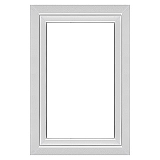 Solid Elements Kunststofffenster Q71 Supreme (B x H: 90 x 135 cm, Links, Weiß)