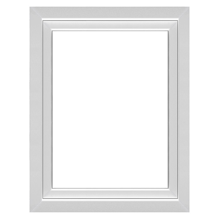Solid Elements Kunststofffenster Q71 Supreme (B x H: 105 x 135 cm, Links, Weiß)
