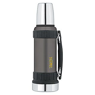 Thermos Thermo-Trinkflasche Work (1,2 l, Anthrazit)