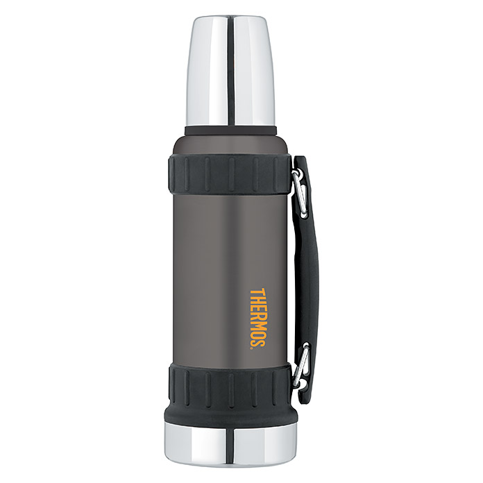 Thermos Thermo-Trinkflasche Work (1,2 l, Anthrazit) -